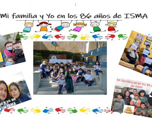 YO Y MI FAMILIA EN EL ANIVERSARIO 86 DEL ISMA