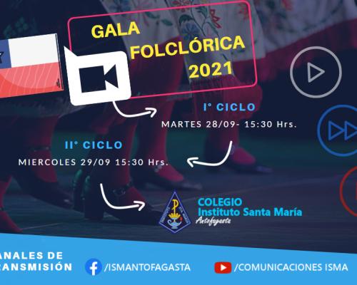 COMUNICADO GALA FOLCLÓRICA 2021