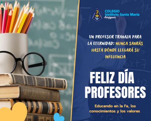 Feliz día Profesores