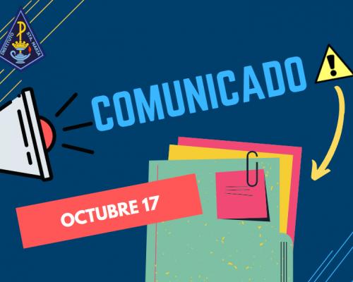 Comunicado 17 Octubre